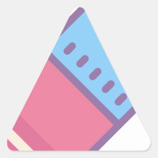 Eraser Triangle Sticker
