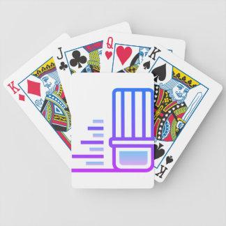 Erasing Bicycle Playing Cards