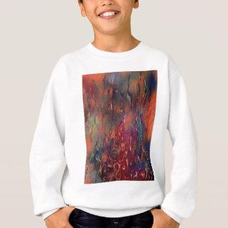 Erba dopo un incendio sweatshirt