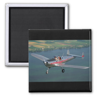 Erco, Aircoupe, 1946_Classic Aviation Square Magnet