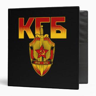 Ère russe de Soviétique d'insigne de KGB Classeurs Vinyle