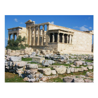 Erechtheum Acropolis - GREECE Postcard