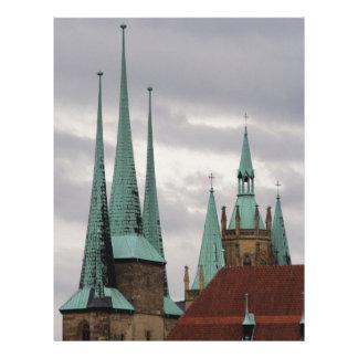Erfurt, Germany Personalized Letterhead