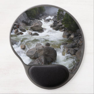 Ergonomic refreshing rushing river mouse pad