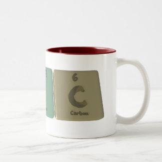 Eric  as Erbium Iodine Carbon Two-Tone Coffee Mug