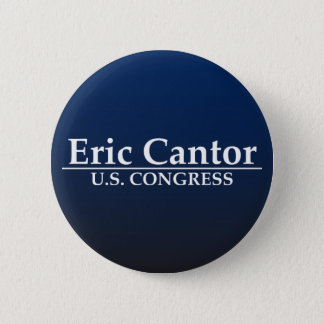 Eric Cantor U.S. Congress 2 Inch Round Button