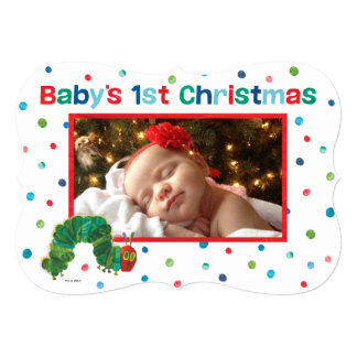 Eric Carle | Baby's First Christmas - Photo Card
