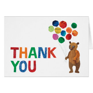 Eric Carle | Beary Girl Birthday - Thank You Card