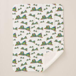 Eric Carle | Butterfly Pattern Sherpa Blanket