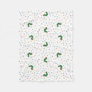 Eric Carle | Caterpillar and Dots Pattern Fleece Blanket