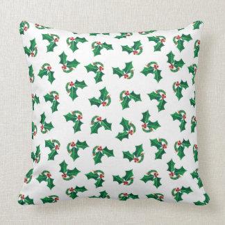 Eric Carle | Christmas Caterpillar Pattern Throw Pillow