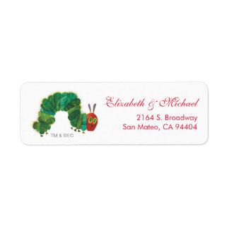 Eric Carle | The Very Hungry Caterpillar Return Address Label