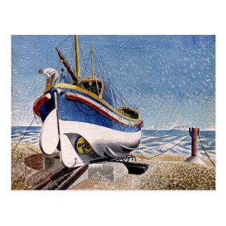 Eric Ravilious - Lifeboat Postcard