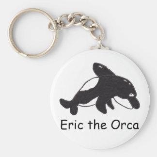 Eric the Orca Keychain