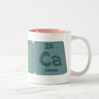 Erica as Erbium Iodine Calcium Two-Tone Coffee Mug