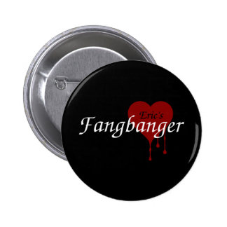 Eric's Fangbanger 2 Inch Round Button