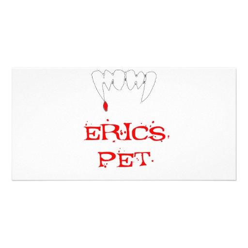 Erics Pet Photo Greeting Card
