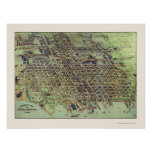 Erie, PA Panoramic Map - 1909 Poster