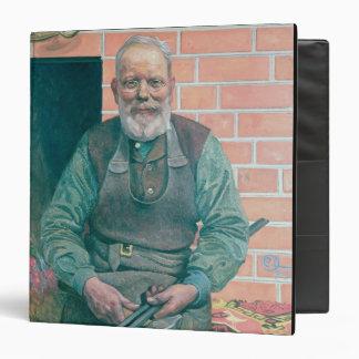 Erik Erikson, The Blacksmith 3 Ring Binder