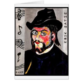 Erik Satie Card