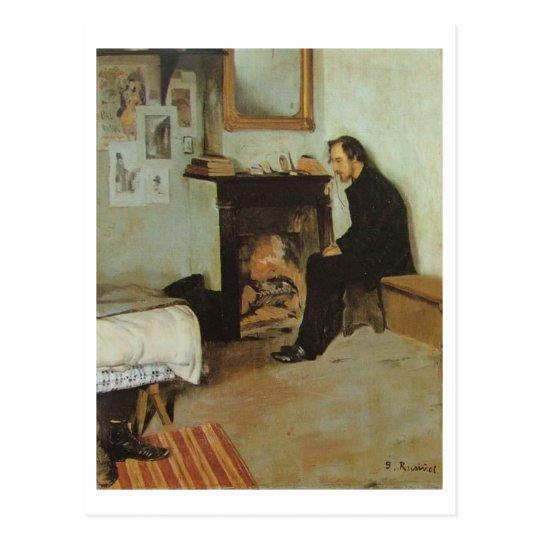 Erik Satie Postcard