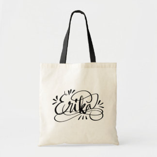 Erika - Custom flourish script calligraphy name Tote Bag