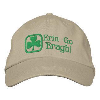 Erin Go Bragh! Embroidered Baseball Cap