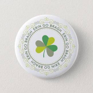 Erin go Bragh, Ireland Forever 2 Inch Round Button