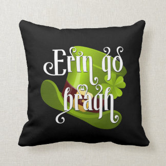 Erin go Bragh Irish Pride Throw Pillow