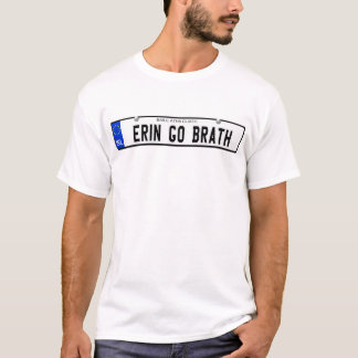 Erin Go Brath - Irish Plate T-Shirt