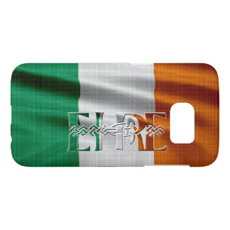 Erin, Ireland Flag Patriotic Design Samsung Galaxy S7 Case
