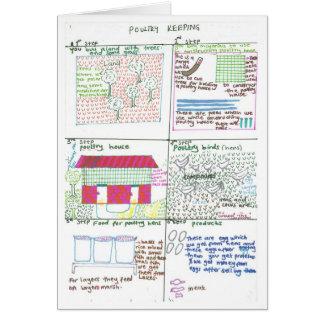 Erinah's Poultry Farm Card