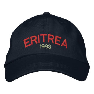 Eritrea 1993 Customizable Hat Embroidered Baseball Cap