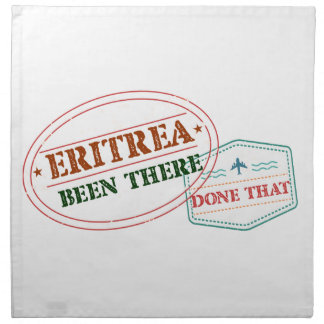 Eritrea Been There Done That Napkin