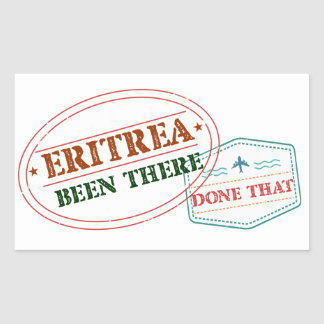 Eritrea Been There Done That Sticker