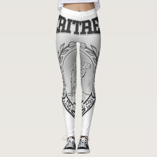 Eritrea Coat of Arms Leggings