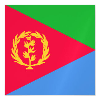 Eritrea Flag Magnetic Card