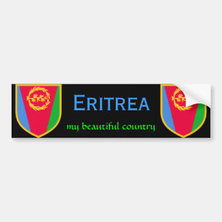 Eritrea Flag  my beautiful country Bumper Sticker
