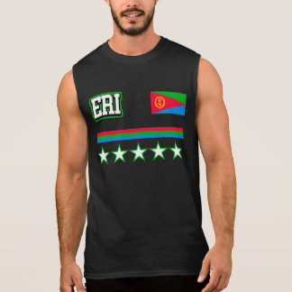 Eritrea Flag Sleeveless Shirt