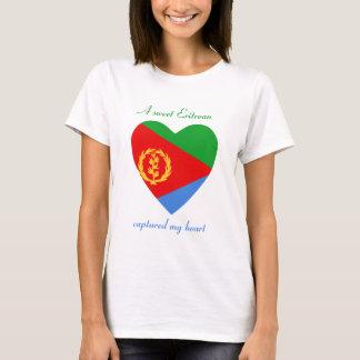 Eritrea Flag Sweetheart T-Shirt