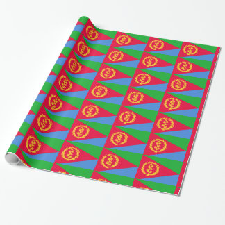 Eritrea Flag Wrapping Paper