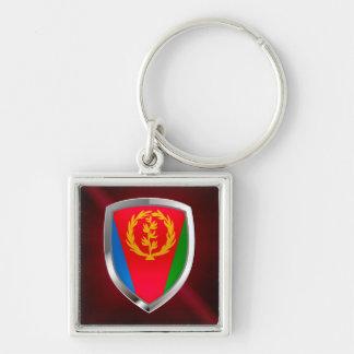 Eritrea Mettalic Emblem Keychain