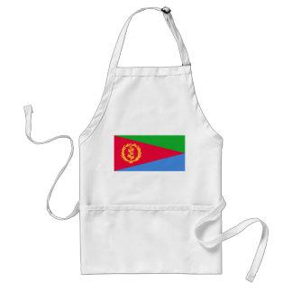 Eritrea National World Flag Standard Apron