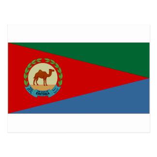 Eritrea President Flag Postcard