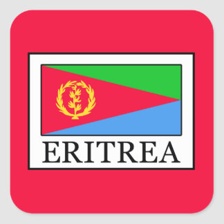 Eritrea Square Sticker