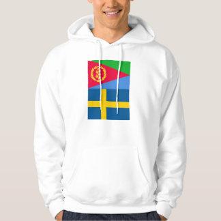 Eritrean Swedish Flag Hoodie