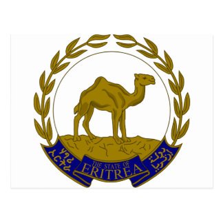 Eritria Coat of Arms Postcard
