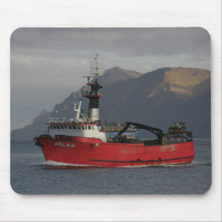 Erla N, Crab Boat in Dutch Harbor, Alaska Mouse Pad