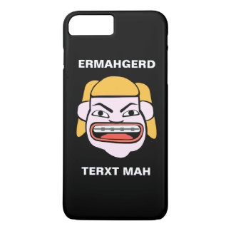 Ermahgerd Terxt Mah iPhone 7 Plus Case