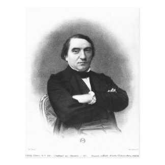 Ernest Renan après une photographie par Pierre Cartes Postales